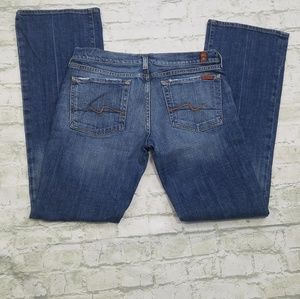 7 for all of mankind bootcut jeans